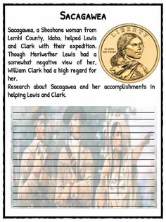 Lewis and Clark American Expedition Facts & Worksheets For Kids