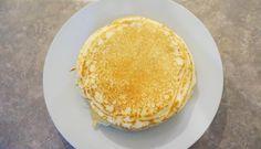 Panquecas com farinha de arroz