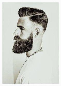 High and tight w/ beard