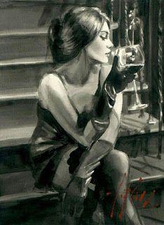 Saba on The Stairs Painting by Fabian Perez Fabian Perez, L'art Du Portrait, Arte Obscura, Arte Pop, Pulp Art, Erotic Art, Aesthetic Art, Figurative Art, Female Art