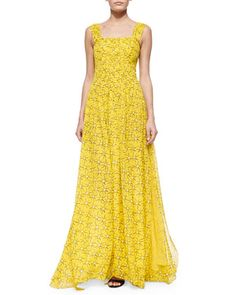 Star-Print A-Line Maxi Dress by Diane von Furstenberg at Neiman Marcus. ♥♥♥ DISCOVERED & PINNED BY RGPENROSE