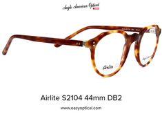 Airlite S2104 44mm DB2 Glasses, American, Style, Eyewear, Swag, Eyeglasses, Stylus, Eye Glasses, Outfits