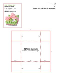 Free camera gift box template - from Papercraft Inspirations magazine (This would make the perfect Silhouette cut file). 3d Templates, Printable Box, Printables, Box Patterns, Free Boxes, Craft Box, Diy Box, Diy Paper, Clipart