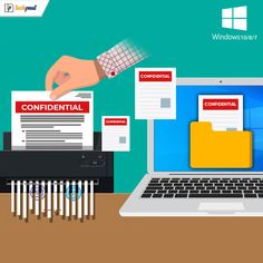 List of best file shredders for Windows 10, 8, 7 to permanently erase your data. Shred sensitive files and ensure full safety with a file shredder for Windows. #BestFileShredderSoftware #TechPout #Software #Windows #Technology Filing, Windows 10, Software