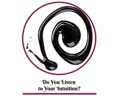 Blog post at Leanne Chesser : I've been thinking about intuition lately.  We tend to focus a LOT on external things to tell us who we are and what our worth is and what[..]