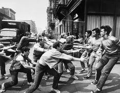 """""""West Side Story"""" (Robert Wise and Jerome Robbins, Swing Dancing, My Fair Lady, Old Movies, Great Movies, William Shakespeare, West Side Story 1961, West Side Story Tonight, Film Musical, Musical Theatre"""