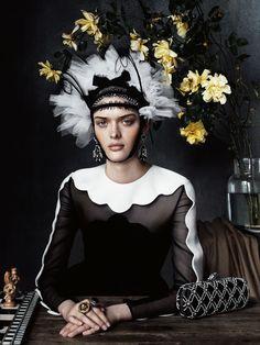 UK Vogue December 2013: Still Life by Josh Olins