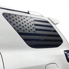 Online shopping from a great selection at Automotive Store. Window Decals For Trucks, Rear Window Decals, 4runner Accessories, Subaru Crosstrek Accessories, Auto Accessories, Toyota 4runner Trd, Toyota Tacoma, American Flag Decal, Offroader