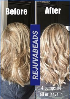 #Rejuvabeads from #Monat Her hair is so much more beautiful and all she used was Rejuvabeads. It has 100% success on mending split ends. Patent Pending and this type of product is not available from any other brand! www.megfen.mymonat.com
