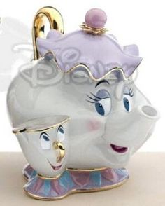 Mrs. Potts and Chip cookie jar from Fantasies Come True! My next purchase ♡♡♡