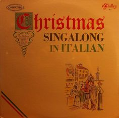 christmas singalong sing along in italian vinyl lp record album sealed - Italian Christmas Music