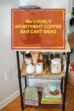 40+ Lovely Apartment Coffee Bar Cart Ideas #apartmentcoffeeideas Lovely Apartments, Bar Cart, Coffee, Ideas, Home Decor, Kaffee, Decoration Home, Room Decor, Cup Of Coffee