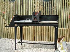 Trolley 1200   Traditioneel Zuid-Afrikaans trolley braai van zeer zware kwaliteit. Komt met 2x RVS rooster, kolenmaker en staat op een verrijdbaar onderstel ; één kant is met wieltjes uitgevoerd.  Opties voor deze braai: wokset en stoofpot. Firewood Holder, Outdoor Cooking, Afrikaans, Grills, Storage, Rooster, Furniture, Home Decor, Bar Grill