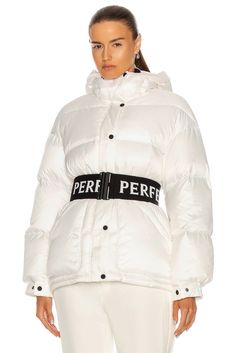 Perfect Moment Oversize Parka II White Jacket Rain Jacket, Bomber Jacket, Parka, Motorcycle Jacket, Adidas Jacket, Active Wear, Windbreaker, Winter Jackets, In This Moment