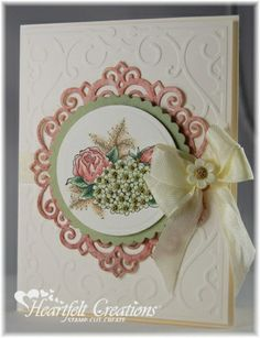 Heartfelt Creations | Floral With Cream