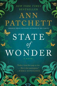 The latest novel by one of my favorite authors. I might like it better than Bel Canto. It's a close call. Ann Patchett.