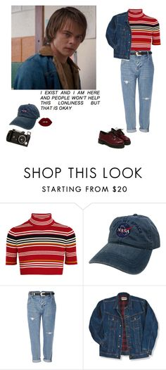 """""""Jonathan's Girl..."""" by julidesiree ❤ liked on Polyvore featuring Alessandra Rich, River Island, Wrangler and Velvetine"""