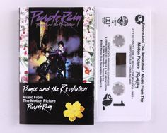 Prince And The Revolution – Purple Rain Cassette Tape by JeepsterVintage on Etsy