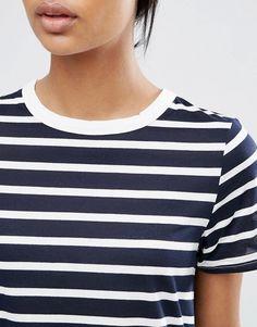 Image 3 ofASOS Swing T-Shirt In Stripe