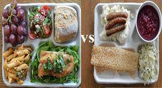 Ülkelerin Okullardaki Öğle Yemekleri