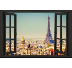 Paris Poster Window