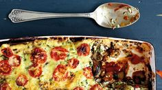 Skinny eggplant 'lasagne' recipe : SBS Food