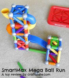 SmartMax Mega Ball Run - toy review