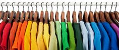 First thing's first: Pare down your clothes inventory. 25 Brilliant Lifehacks For Your Tiny Closet Armoire Dressing, Tiny Closet, Closet Space, Dorm Organization, Organisation Ideas, Tiny Bathrooms, Wooden Hangers, Recycled T Shirts, Diy On A Budget