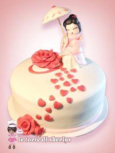 Geisha cake, love, love, love <3 <3 <3