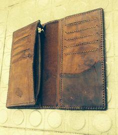 Vintage handmade wallet!! Design by Bee!