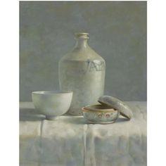 Stilleven in Porselein by Henk Helmantel