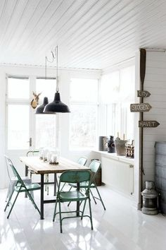 Witte vloeren (via Bloglovin.com )