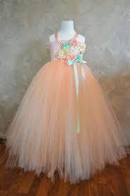 Image result for flower girl dress in peach