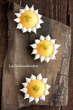 Lemon Meringue Tartlet