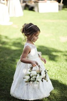 Check these flower girls wedding dresses you will love it 15 amazing dresses Flower Girl Hairstyles amazing check dresses flower Girls Love Wedding Bridesmaid Flowers, Bridesmaid Hair, Wedding Flowers, Wedding Dresses, Bridesmaids, Lace Dresses, Girls Dresses, Flower Girl Hairstyles, Wedding Hairstyles