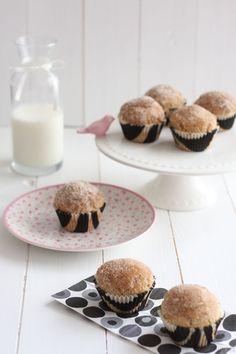 Donut-Muffins de Canela