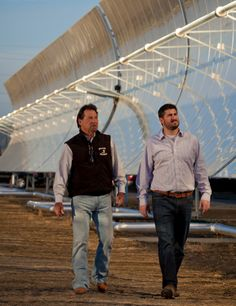 Water-Cleaning Technology Could Help Farmers By TODD WOODYFEB. 16, 2014- NYTimes.com FIREBAUGH, Calif. — The giant solar receiver installed on a wheat field here in California's agricultural heartland slowly rotates to track the sun and capture its energy. The 377-foot array, however, does not generate electricity but instead creates heat used to desalinate water.