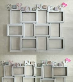 12 photo frames, 1 for each month of your baby's first year!  Email my.memorez@gmail.com