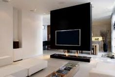 Fireplace and TV stand. Hide all the cables and make your home look modern.