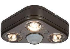 All Pro Rev32735m Revolve Motion Sensing Led Outdoor Flood Light 120 V