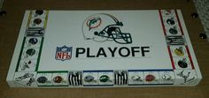 Vintage NFL Playoff Board Game 1991 Buffalo Bills Miami Dolphins COMPLETE VGC #BigLeaguePromotions
