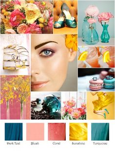 Wedding colour schemes for spring:  Am i getting closer yet?