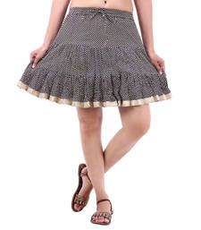 Buy Rajasthan Beautiful Designer Printed Mini Skirt skirt online