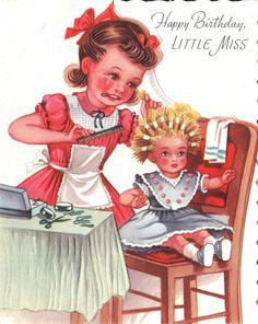 Pin by daniele on girls vintage birthday cards pinterest vintage birthday cards pinterest vintage birthday cards vintage birthday and happy birthday bookmarktalkfo Images
