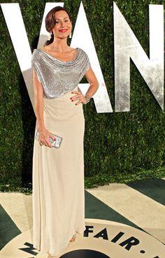 Minnie Driver at the Vanity Fair Oscar Party 2012
