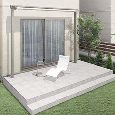 LIXIL | ガーデンスペース | 彩風 | バリエーション | 本体 Outdoor Furniture, Outdoor Decor, Sun Lounger, Ideas Para, Home And Garden, Patio, House, Home Decor, Projects