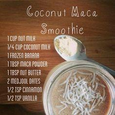 Coconut Maca Smoothie