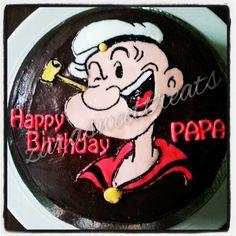 popeye chocolate cake