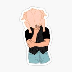 Tv: Friends, Friends Funny Moments, Friends Series, Friends Tv Show, Tumblr Stickers, Cool Stickers, Laptop Stickers, Friends Sketch, Drawings Of Friends