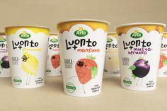 Arla Luonto+ Yoghurt Packaging Concept